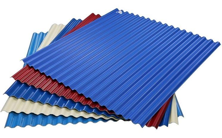 lastre di copertura in plastica