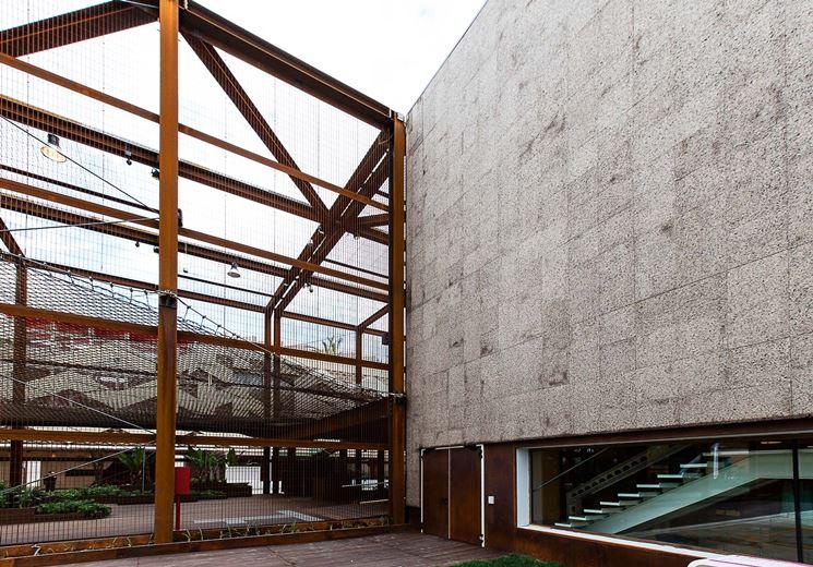 padiglione brasiliano expo con cappotto in sughero