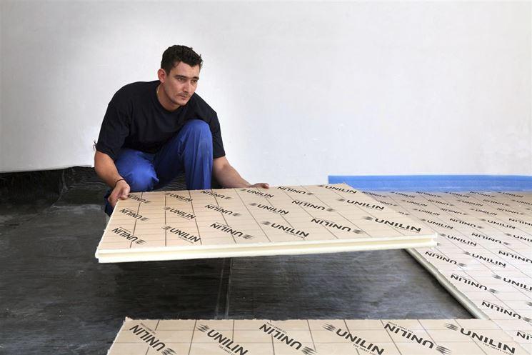 isolare pavimenti