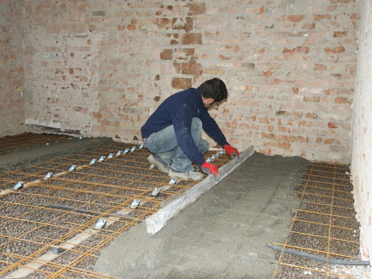 Isolare un pavimento - Isolamento - Come fare isolamento pavimento