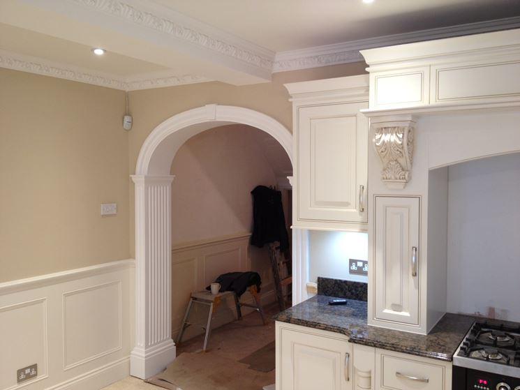 Archi in gesso per interni pareti divisorie realizzare - Arco interno casa ...