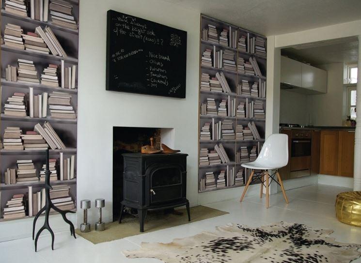 decorazioni per pareti pareti divisorie come decorare