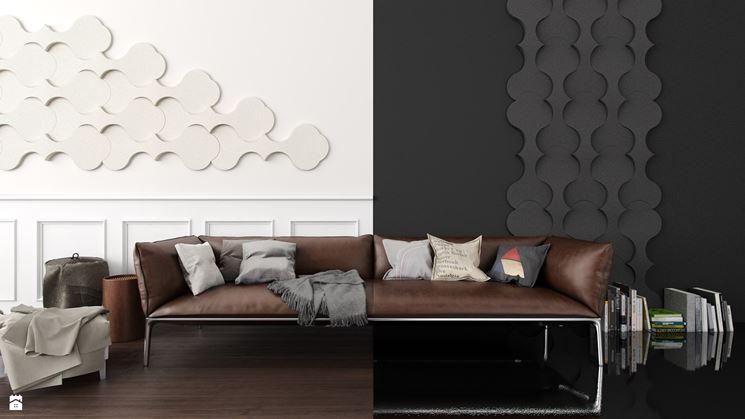 Pannello decorativo a parete esempio