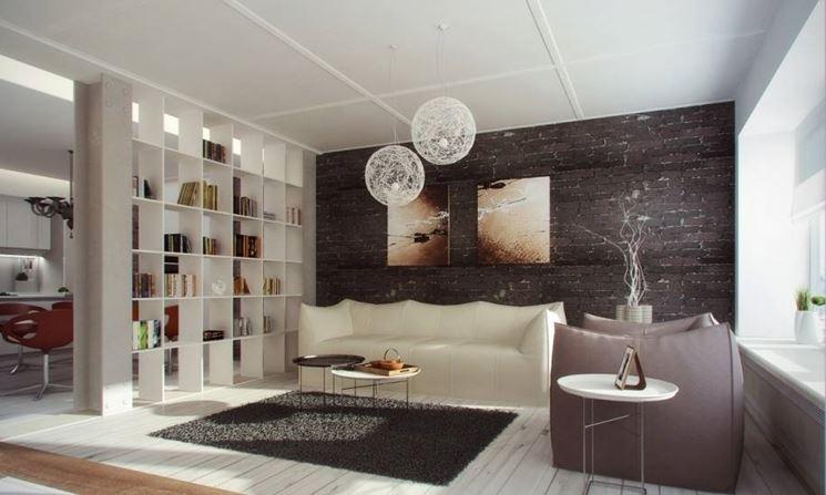 Pareti divisorie attrezzate pareti divisorie for Parete divisoria cucina soggiorno