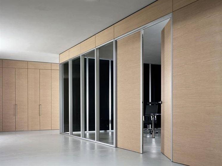Pareti divisorie economiche pareti divisorie for Divisori mobili per ufficio