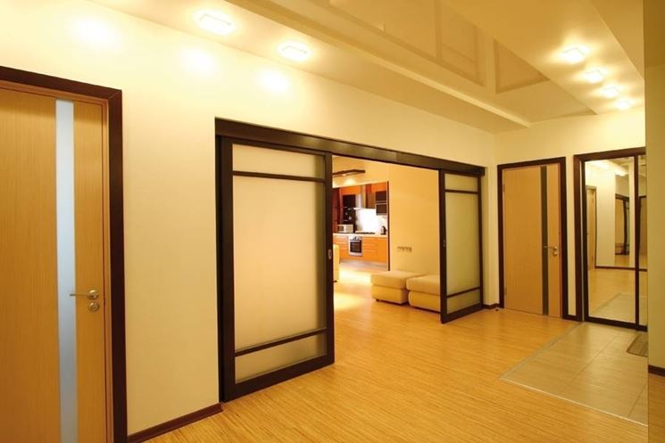 Pareti divisorie in vetro per abitazioni parete divisoria - Pareti divisorie per casa ...