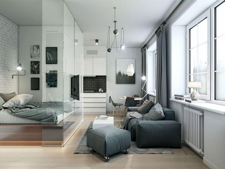 Pareti divisorie per appartamenti pareti divisorie for Interni di appartamenti