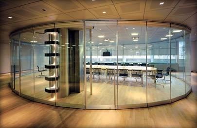 Pareti vetrate pareti divisorie for Case con vetrate