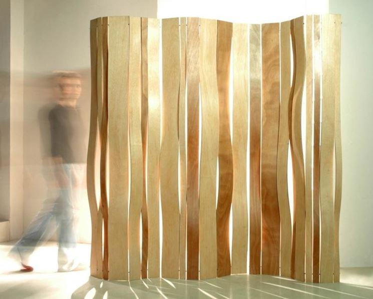 Separè in legno