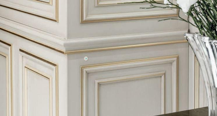 Boiserie da parete pareti boiserie - Parete in legno fai da te ...