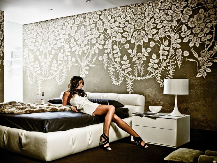 Carta da parati idee per scegliere quella giusta pareti carta da parati per la casa - Decorare pareti camera ...