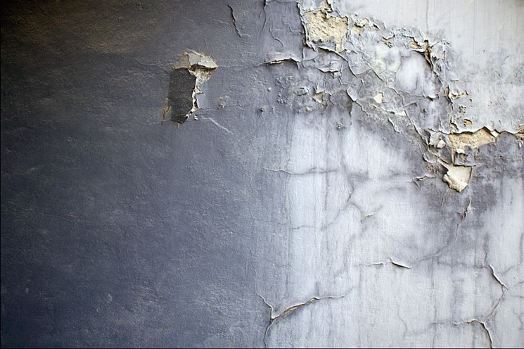 umidità su parete