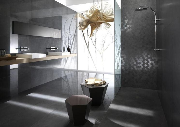 pareti dal colore grigio