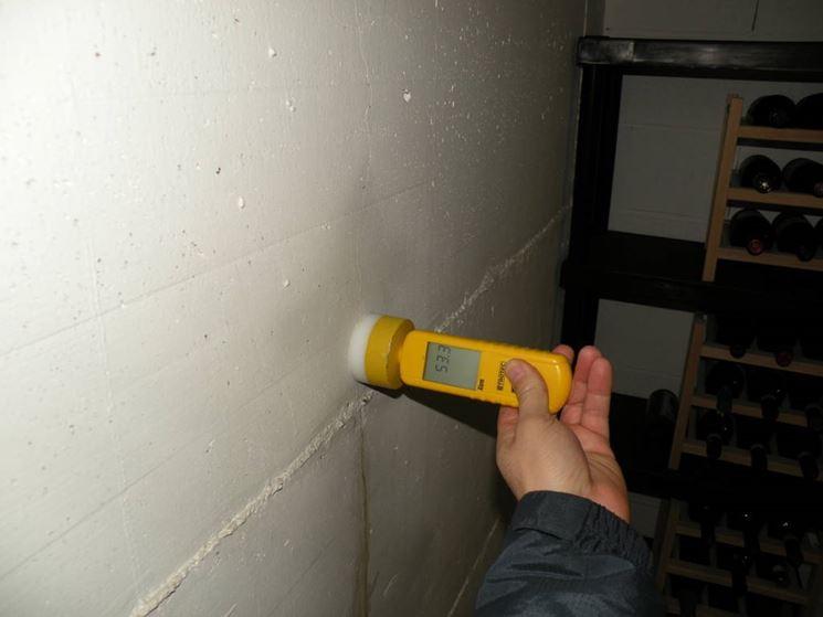 Analisi dell'umidità presente all'interno del muro