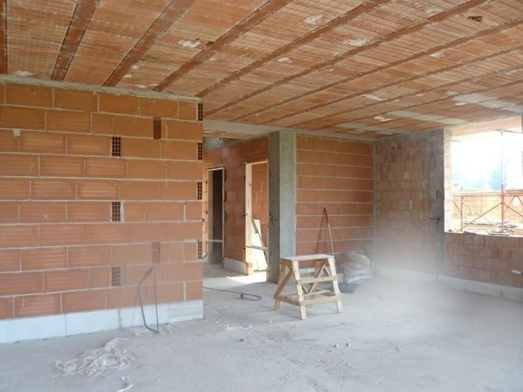 pareti interne abitazione
