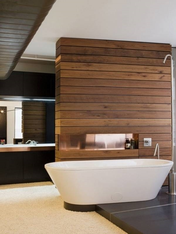 Finiture in legno per interni pareti finiture in legno per ambienti interni - Parete in legno per interni ...