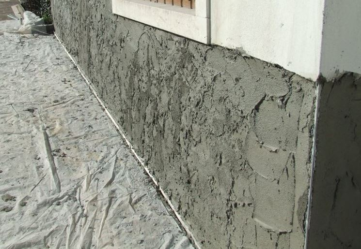 Intonaco deumidificante per pareti umide pareti - Rasatura muro esterno ...