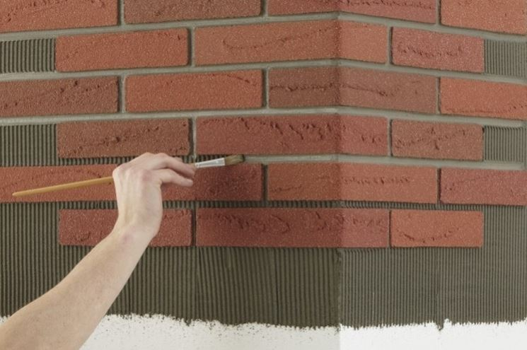 Mattoni flessibili pareti come usare i mattoni flessibili for Mattoni finti per interni