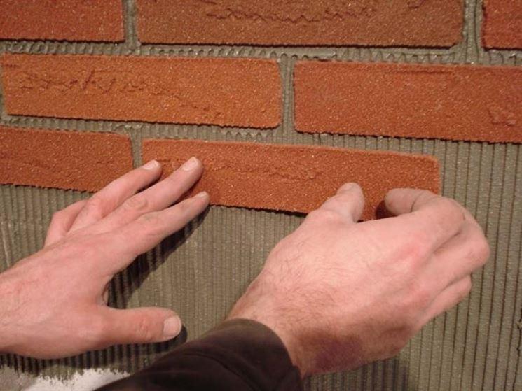 Mattoni flessibili pareti come usare i mattoni flessibili for Piani a due piani in mattoni a vista