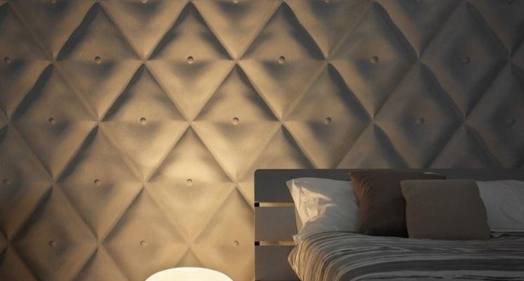 parete decorata con pannelli