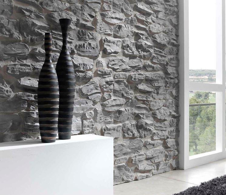Pannelli in finta pietra pareti come impiegare i for Listino prezzi pannelli finta pietra