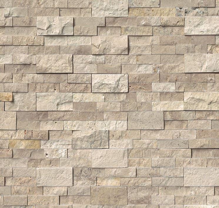 parete in pietra finta