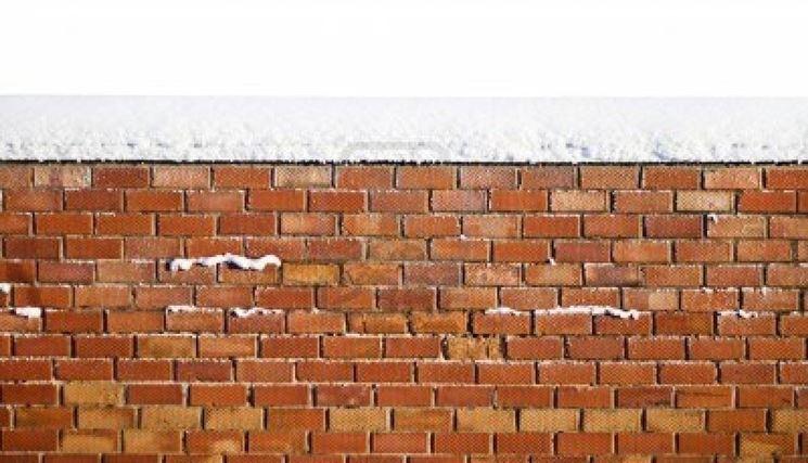 isolare una parete di mattoni