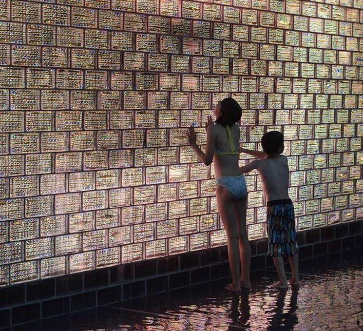Parete vetrocemento e cartongesso - Pareti - Realizzare pareti in ...