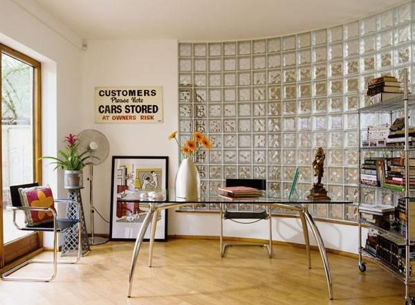 Parete vetrocemento e cartongesso pareti realizzare for Pareti per dividere una stanza