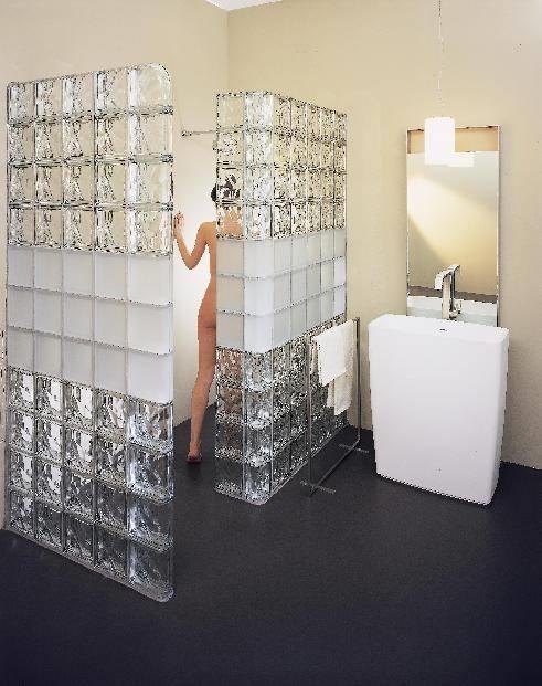 Parete vetrocemento e cartongesso pareti realizzare pareti in vetrocemento e cartongesso - Finestra vetrocemento ...