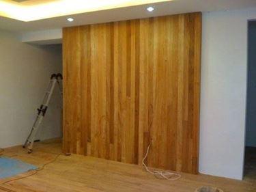 Pareti divisorie in legno
