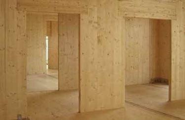 Pareti divisorie in legno pareti - Pareti mobili in legno ...