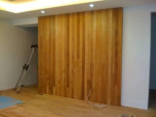 Pareti divisorie in legno pareti - Rivestire parete con legno ...