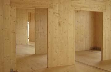 Pareti divisorie in legno pareti - Costruire una parete divisoria ...