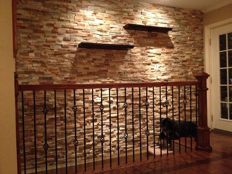 Pareti in finta pietra pareti caratteristiche delle for Finta pietra in polistirolo