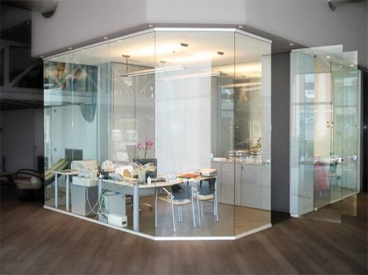 Estremamente pareti in vetro per interni - Pareti XU98
