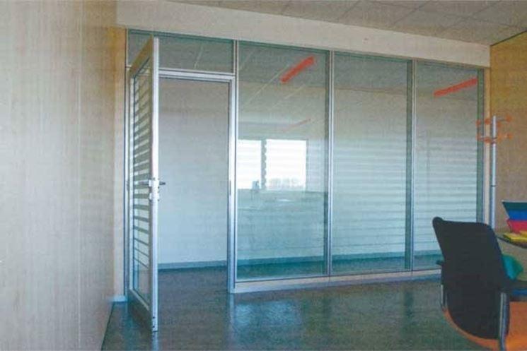 Pareti In Vetro In Offerta : Pareti in vetro per interni