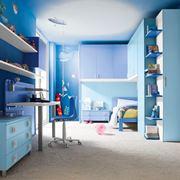 camera azzurra