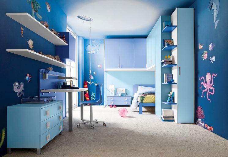 Rivestimenti e colori per i bambini - Pareti - Quali rivestimenti e ...