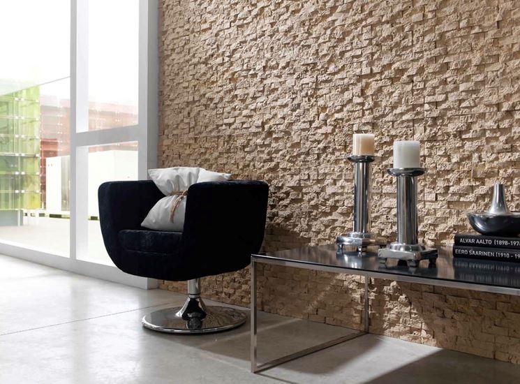 Fabuleux Rivestire una parete con la pietra - Pareti - come rinnovare una  OK64