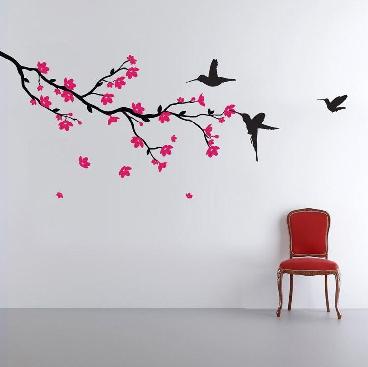 Sticker murali per decorare la casa pareti sticker - Tavole adesive per pareti 3d ...