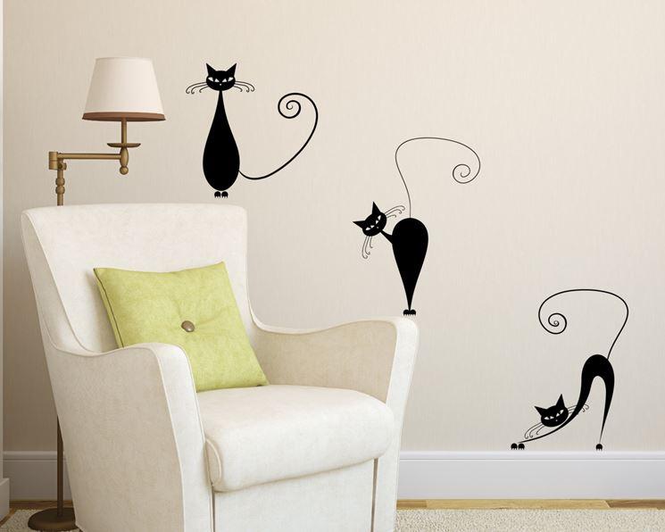 Sticker murali per decorare la casa pareti sticker for Decorare muro stanza