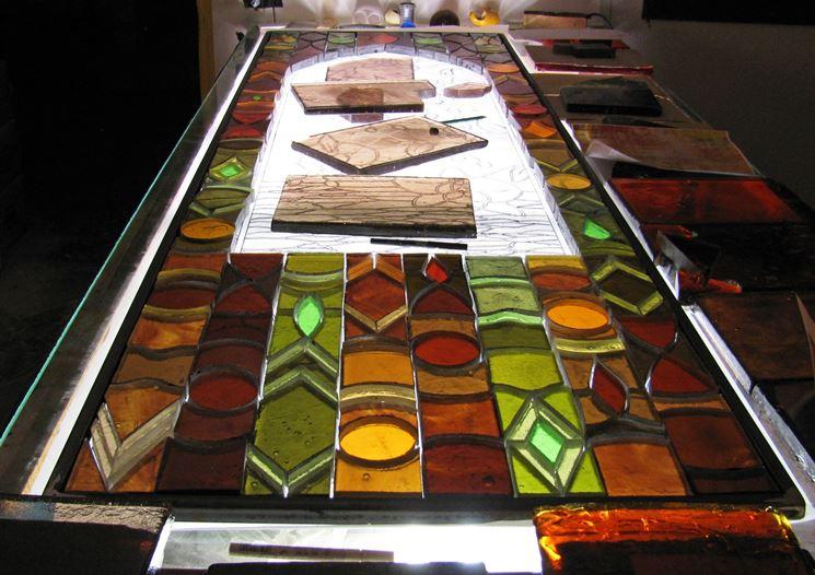 lavorazione vetro per interni