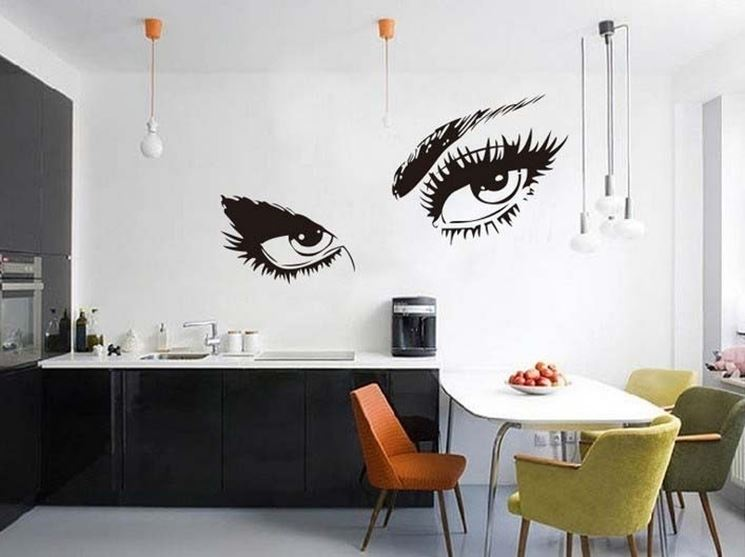 pareti disegnate