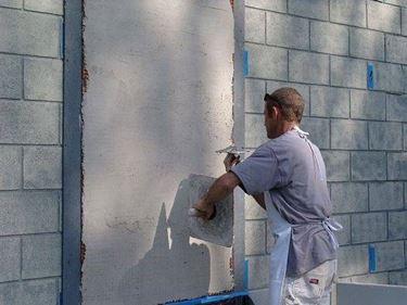 preparare parete per affresco
