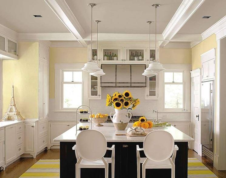 colore in cucina - pitturare - Pitturare Cucina