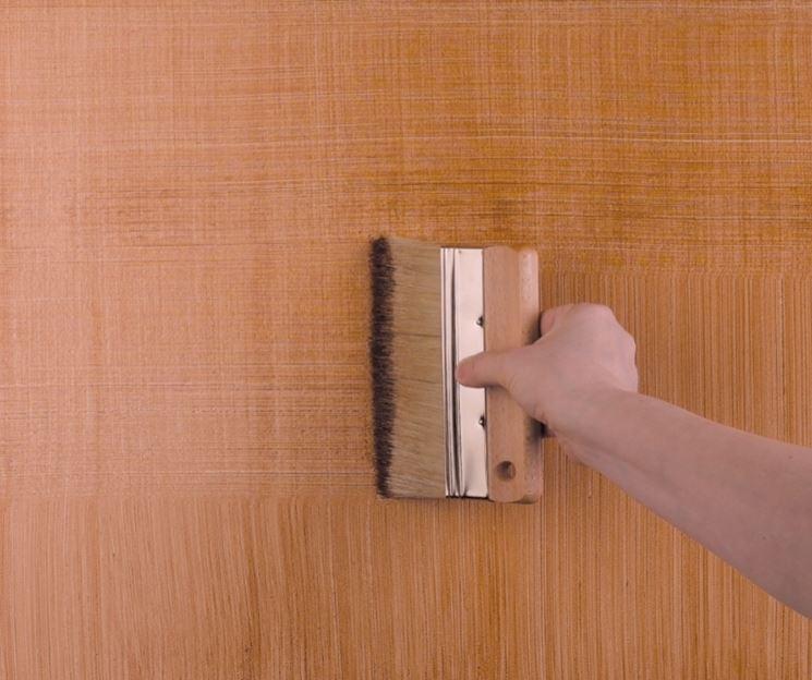 La pittura effetto denim pitturare pittura effetto denim - Decorare muri interni ...