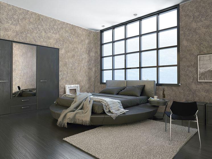Pareti effetto tamponato pitturare decorare pareti con for Negozio di metallo con appartamento