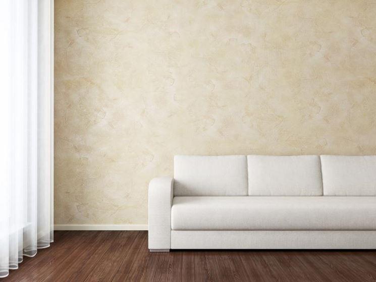 Pareti effetto tamponato - Pitturare - Decorare pareti con pittura tamponato