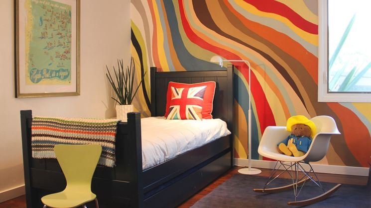 Decorare le pareti con la pittura